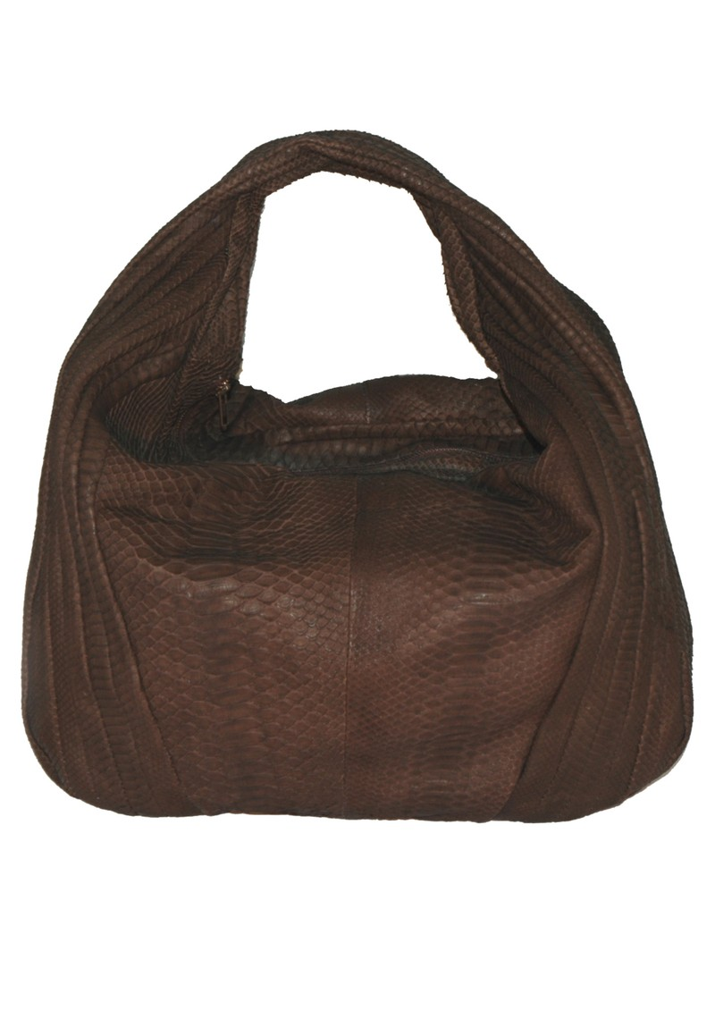 Keda Python Bag - Brown main image