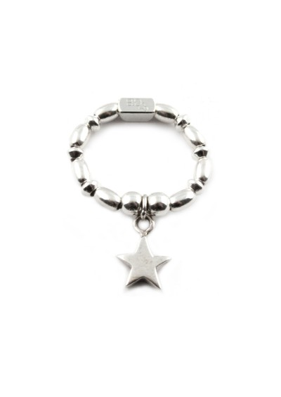 ChloBo Rice & Disc Ring With Star Charm main image