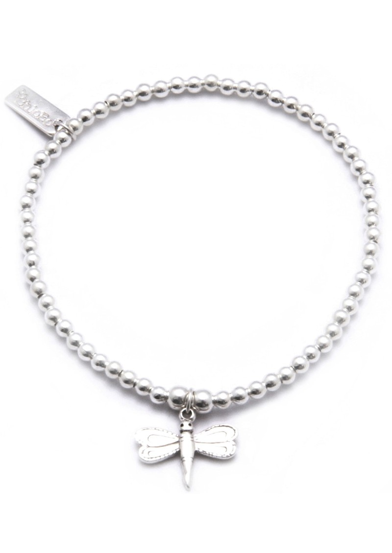 ChloBo Cute Charm Dragonfly Bracelet - Silver  main image