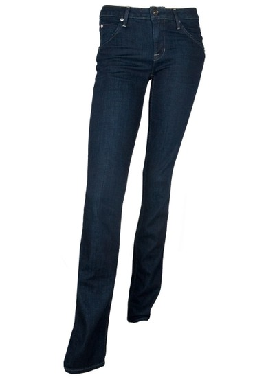 Hudson Jeans Carly Mid Rise Straight Leg - St Martins main image