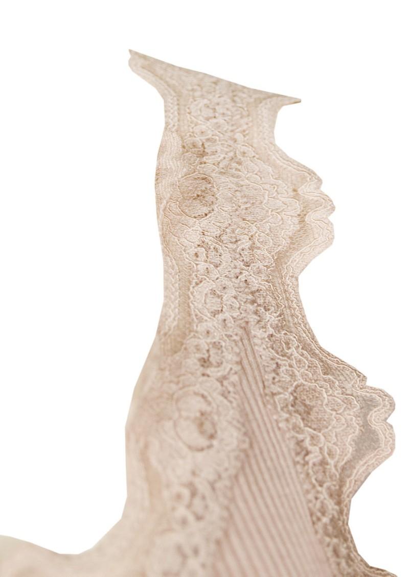 Rosemunde Silk Blend Lace Vest - Cacao main image