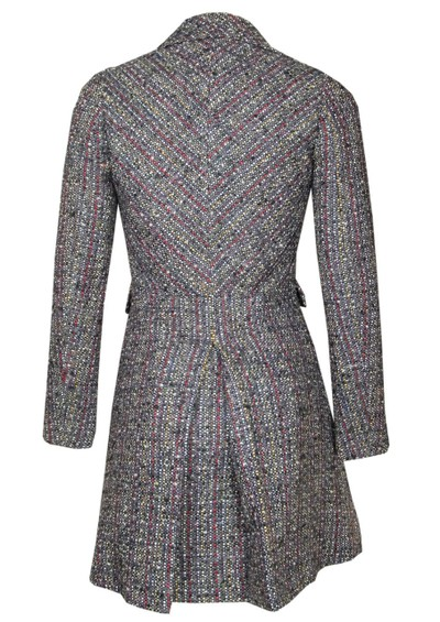 Paul & Joe Sister Cornelio Wool Mix Coat - Anthracite main image