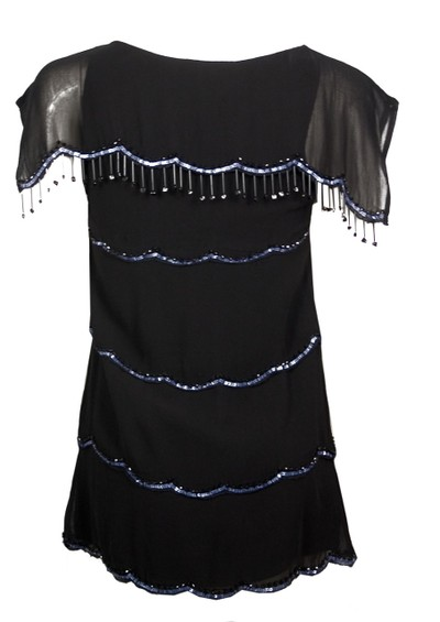 Blank Abiliz Bead Dress - Black main image