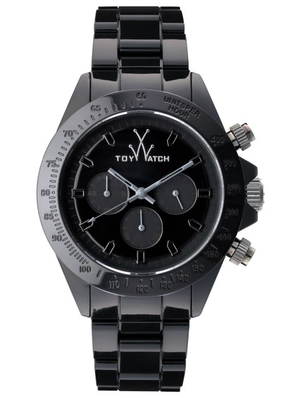 Toywatch Monochrome Chronograph - Black main image