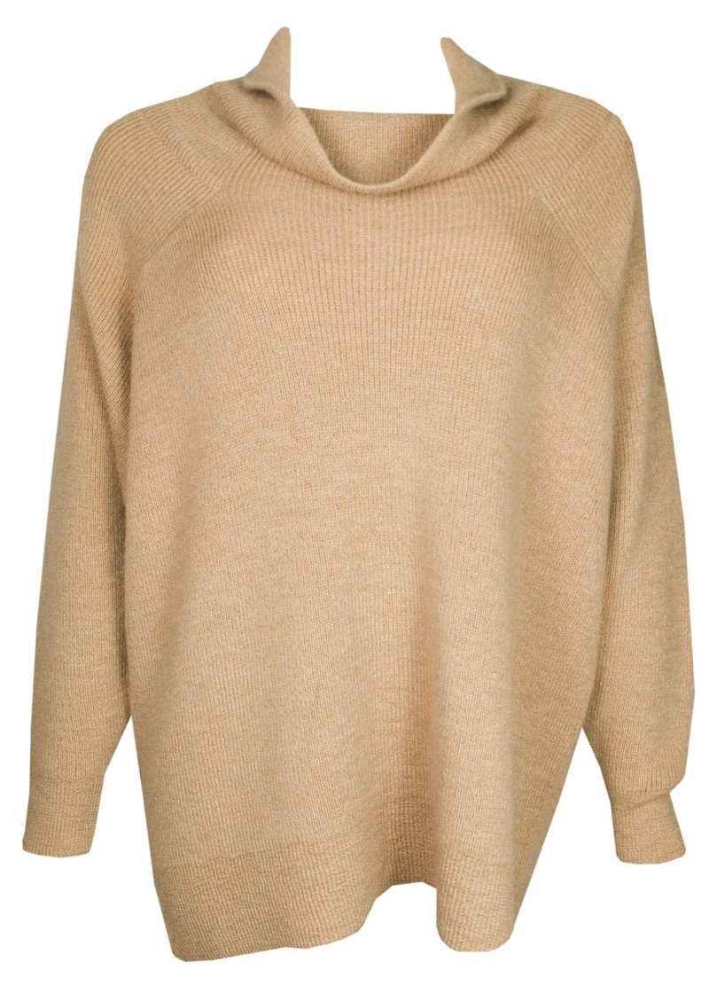 Mexico Knitted Jumper - Camel main image