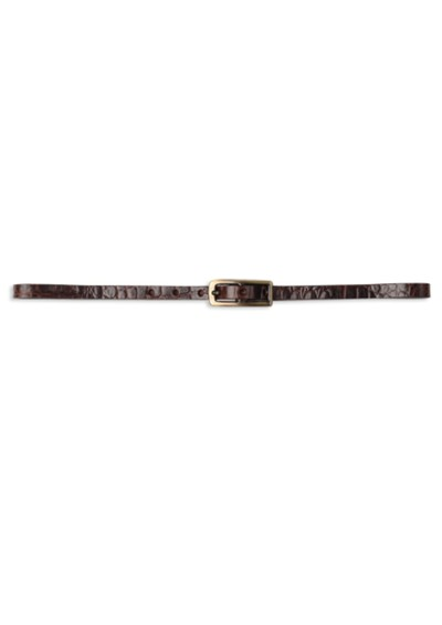 Black Lily Ladysmith Belt - Dark Brown main image