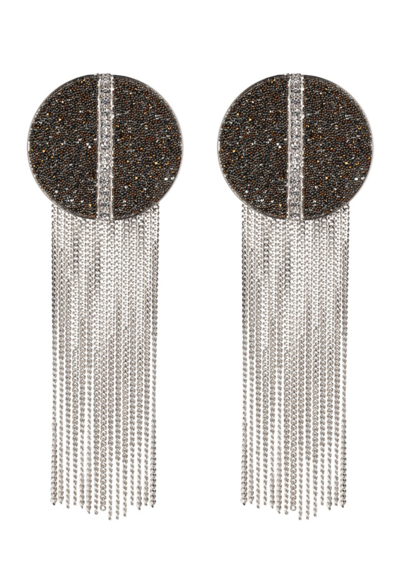 Martine Wester Disco Encrusted Earrings main image