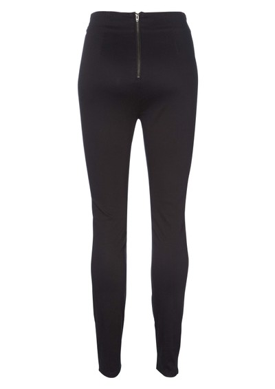 Twist & Tango Ginger High Rise Skinny Jeans - Black main image