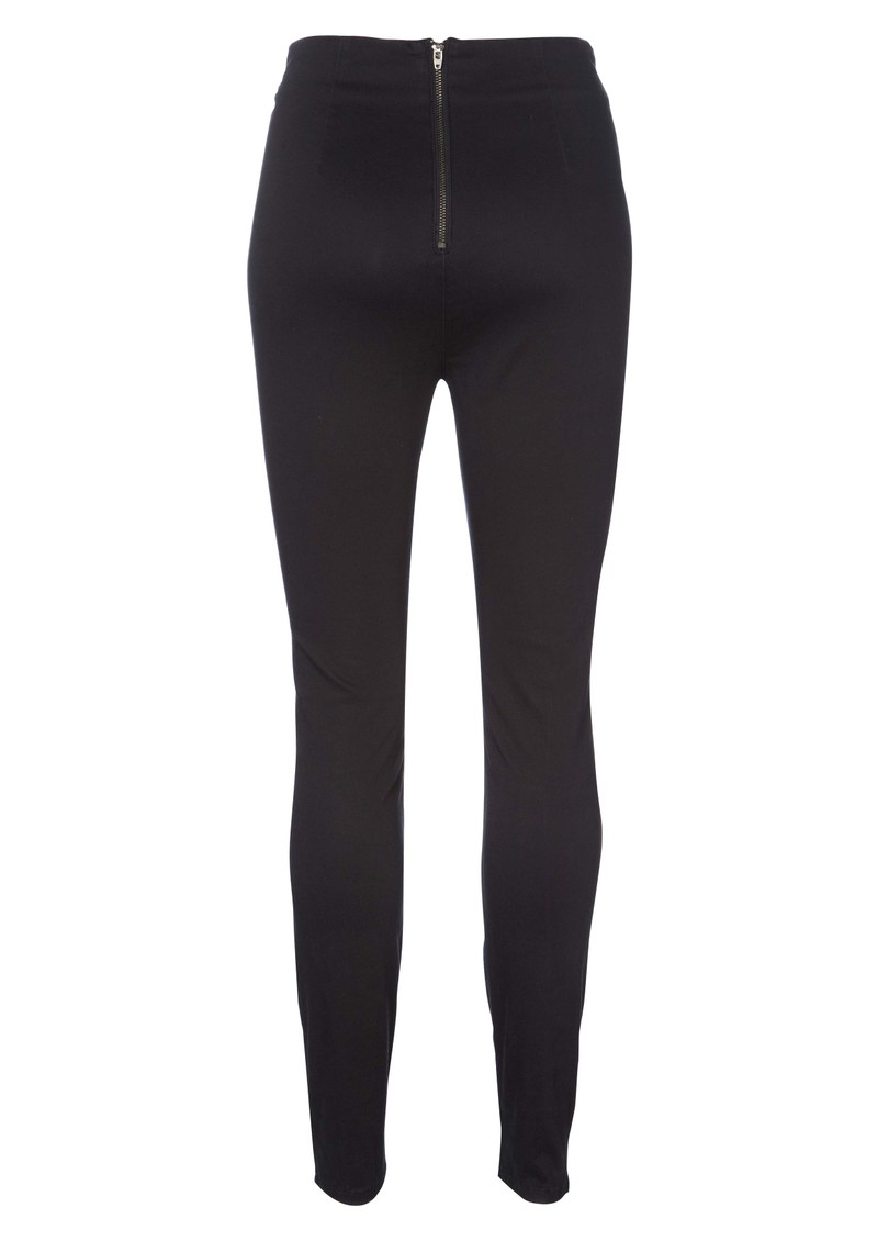 Ginger High Rise Skinny Jeans - Black main image