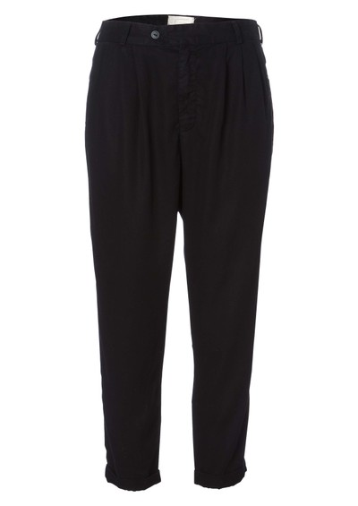 Current/Elliott Beetle Pleated Trousers - Black main image