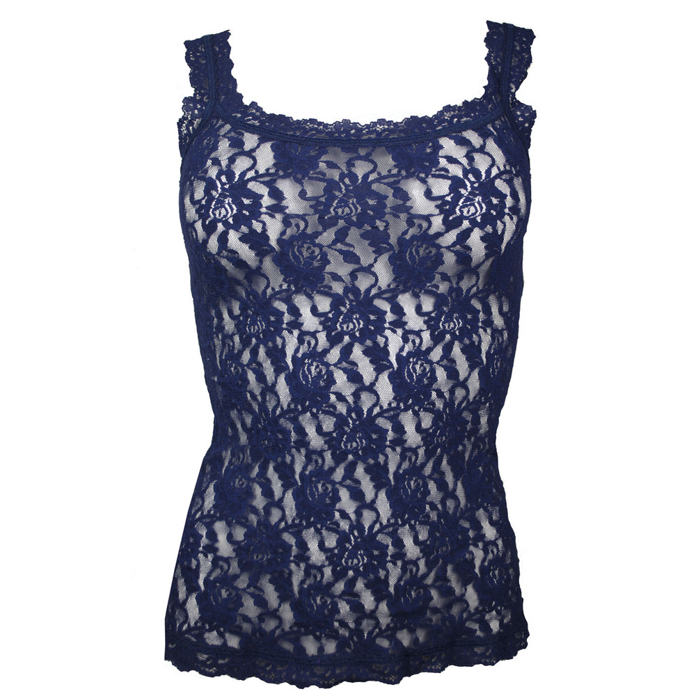 Signature Lace Camisole - Navy