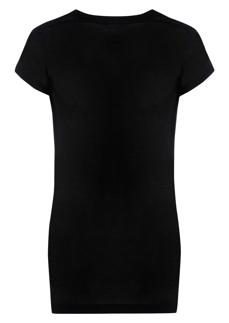 Verity Cashmere Mix Tee - Black main image