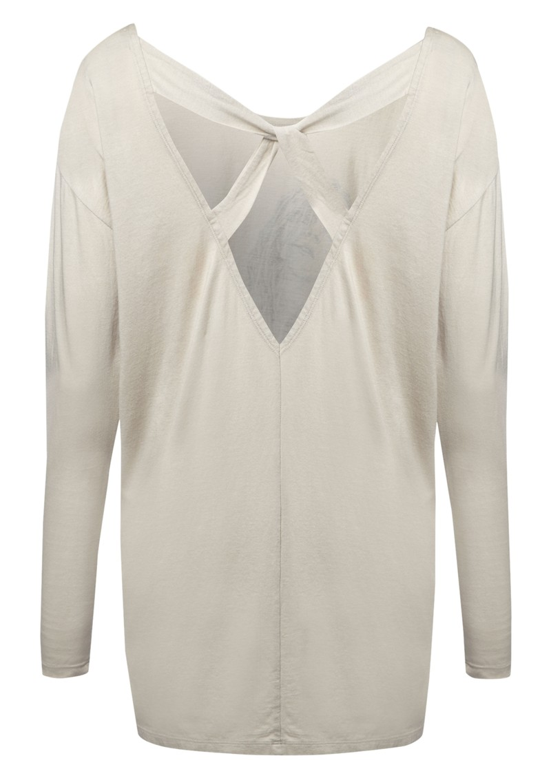 Kimberley Long Sleeve Top - Grey main image