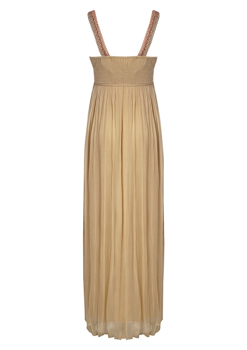Blank Teodora Maxi Dress - Camel main image