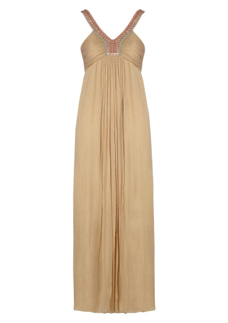 Teodora Maxi Dress - Camel main image