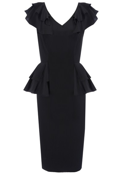 Project D Imagine Silk Dress - Black main image