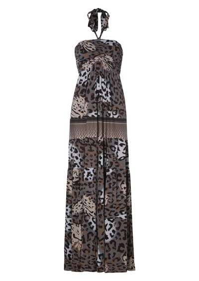 Hale Bob Maxi Dress - Neutrals  main image