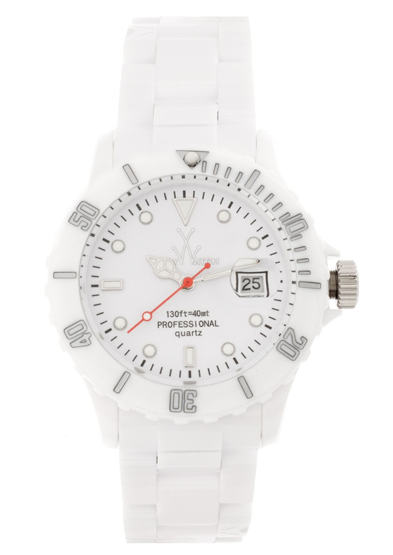 Toywatch Fluo Time Only - White main image