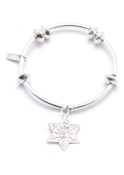 ChloBo Noodle Disc Bracelet with Sunstar Charm main image