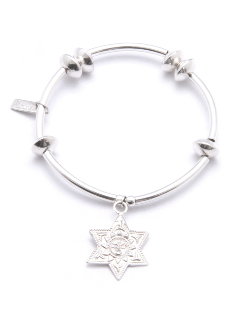 Noodle Disc Bracelet with Sunstar Charm main image