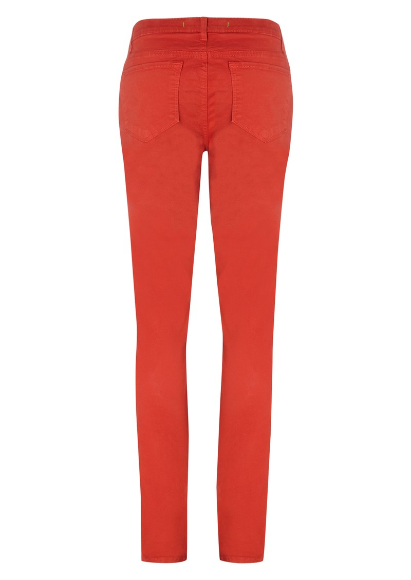 811 Midrise Skinny Leg Jean - Blood Orange main image