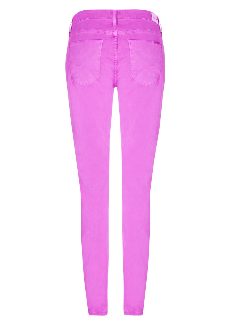 Hudson Jeans Nico Mid Rise Super Skinny Jeans - Lavender main image