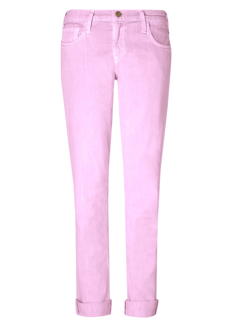 Current/Elliott Rolled Skinny Jean - Mercury main image