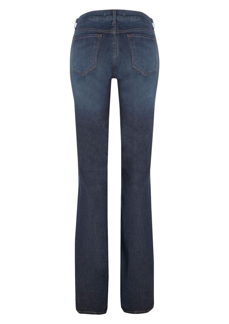 J Brand 818 Classic Slim Bootleg Jean - Classic Blue main image