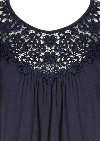 Great Plains Samba Lace Top - Admiral main image