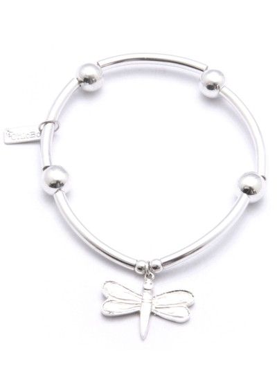 ChloBo Noodle Ball Bracelet With Dragonfly Charm main image