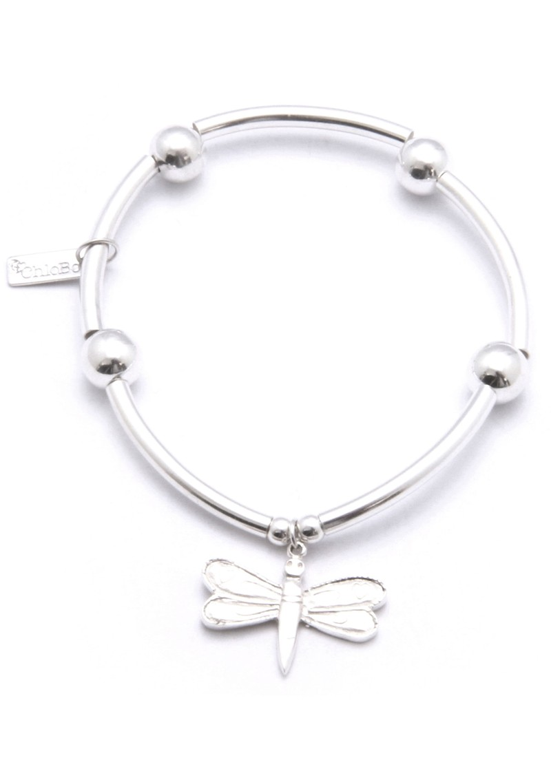 Noodle Ball Bracelet With Dragonfly Charm main image