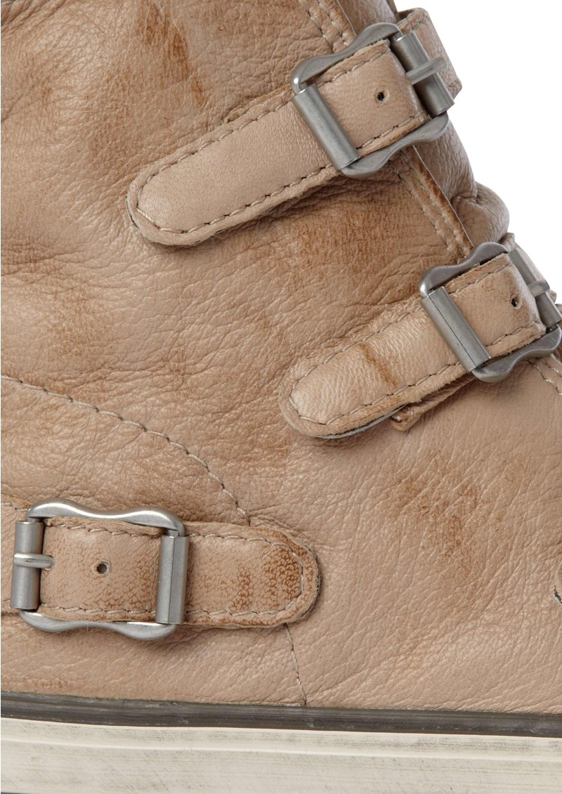 Virgin Leather Buckle Trainers  - Clay main image