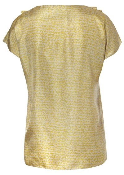 Day Birger et Mikkelsen  Ella Silk Blouse - Gold main image