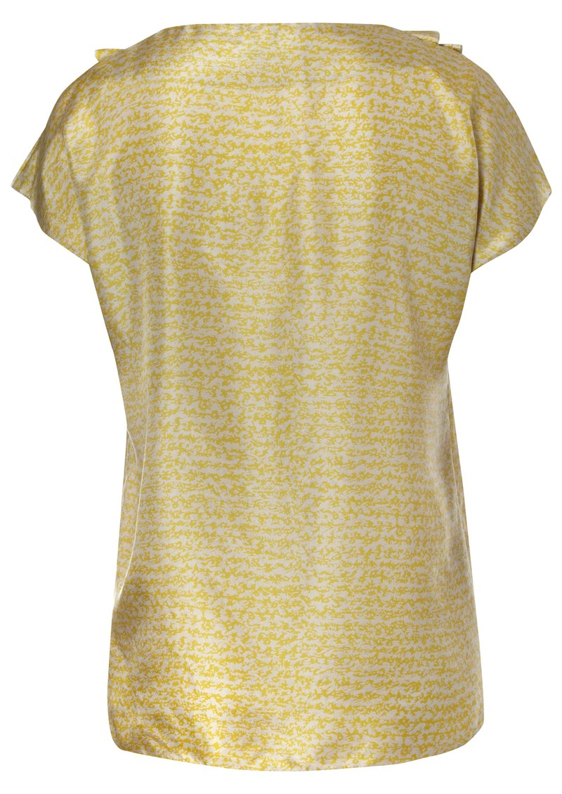 Ella Silk Blouse - Gold main image