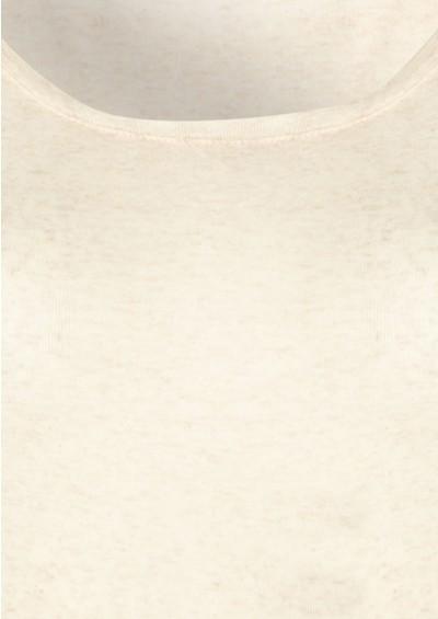 American Vintage Massachussets Long Sleeve Tee - Beige Melange main image