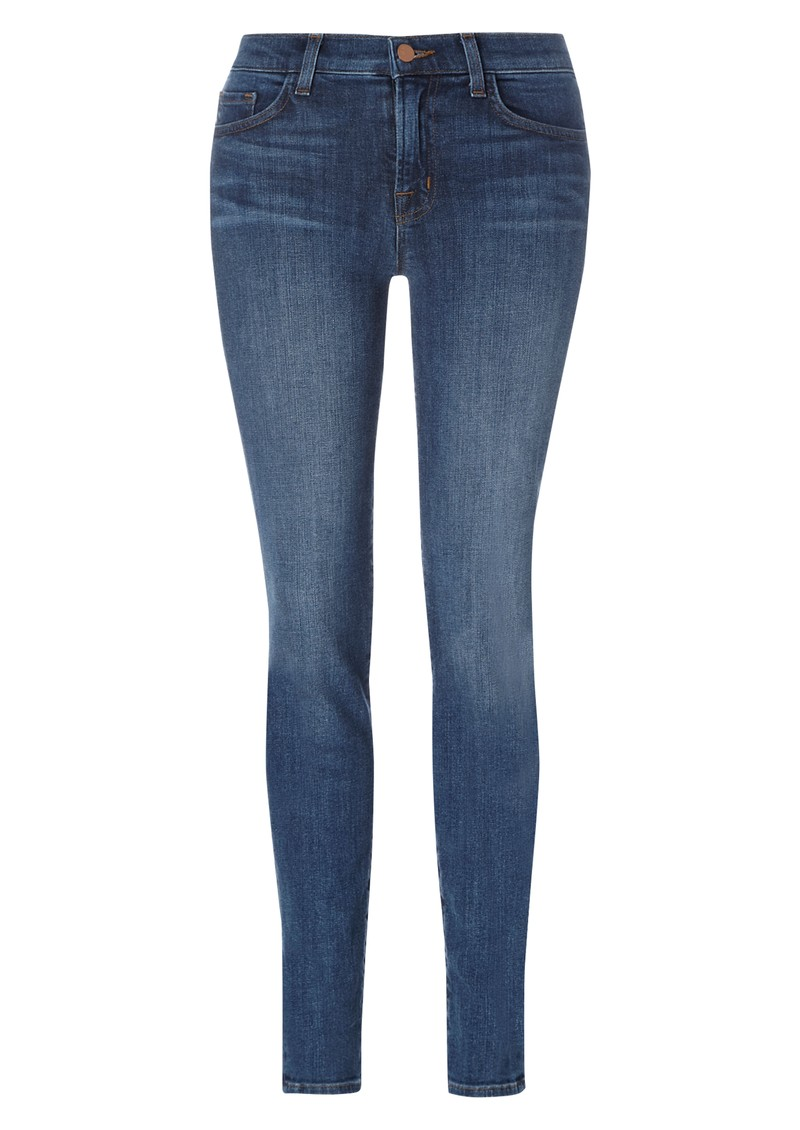 J Brand 811 Midrise Skinny Leg Jean - Bluebell main image