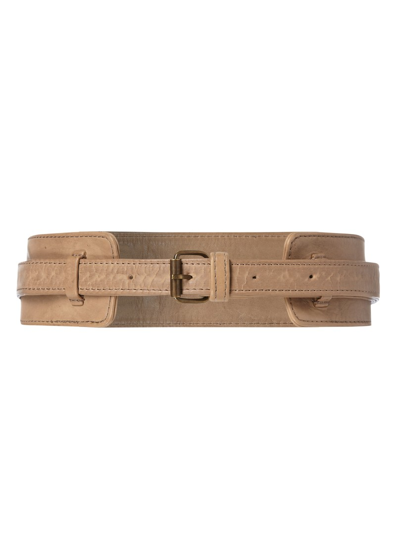 Twist and Tango West Belt - Cognac main image