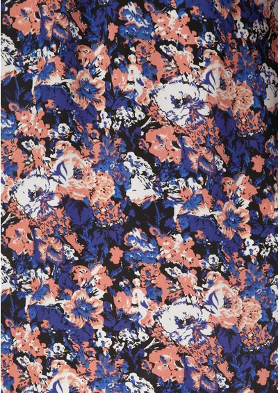 American Retro Trish Dress - Floral main image