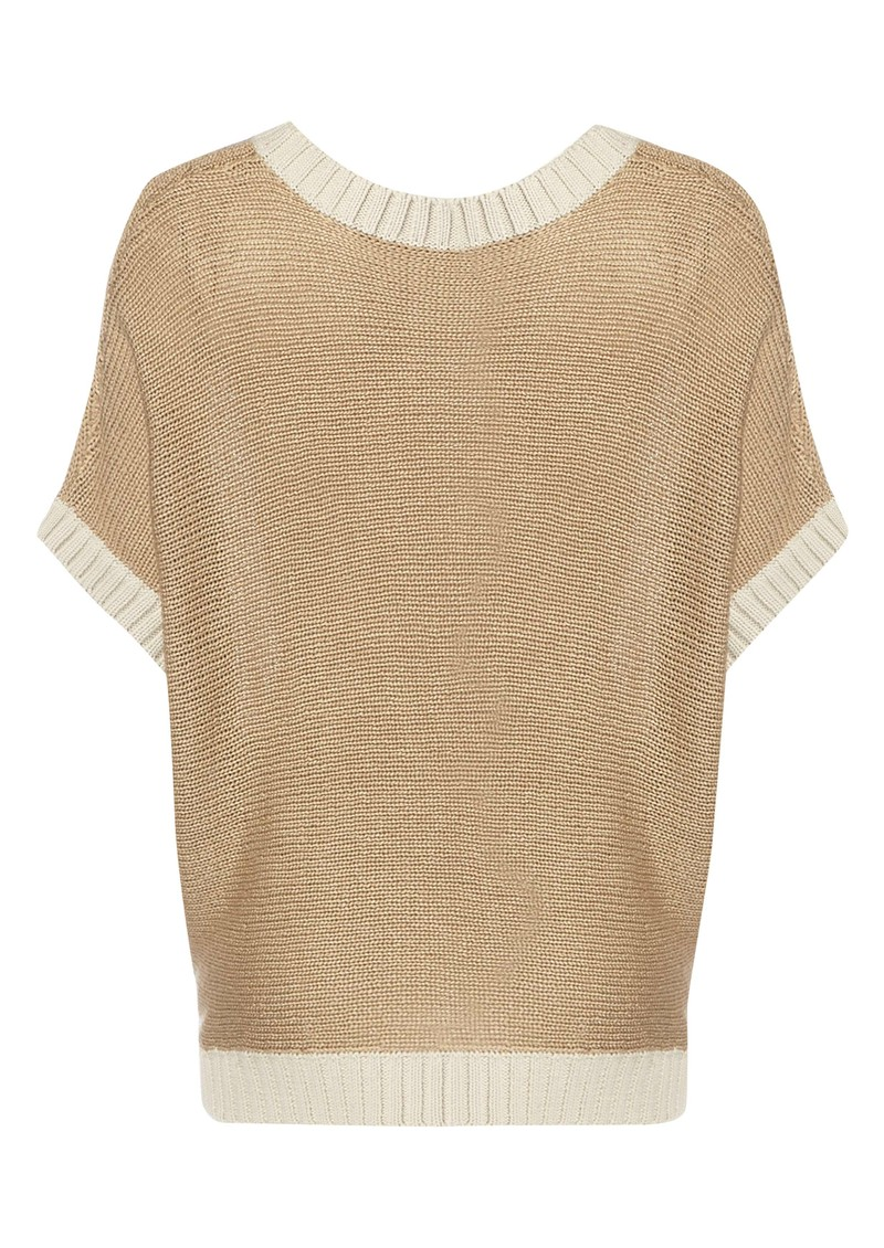 Twist and Tango Eden Loose Fit Sweater - Sand main image