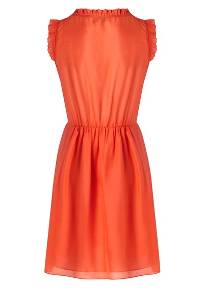 Paul & Joe Sister Horane Silk Dress - Coral main image