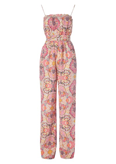Paul & Joe Sister Fantasia Silk Jumpsuit - Pink main image