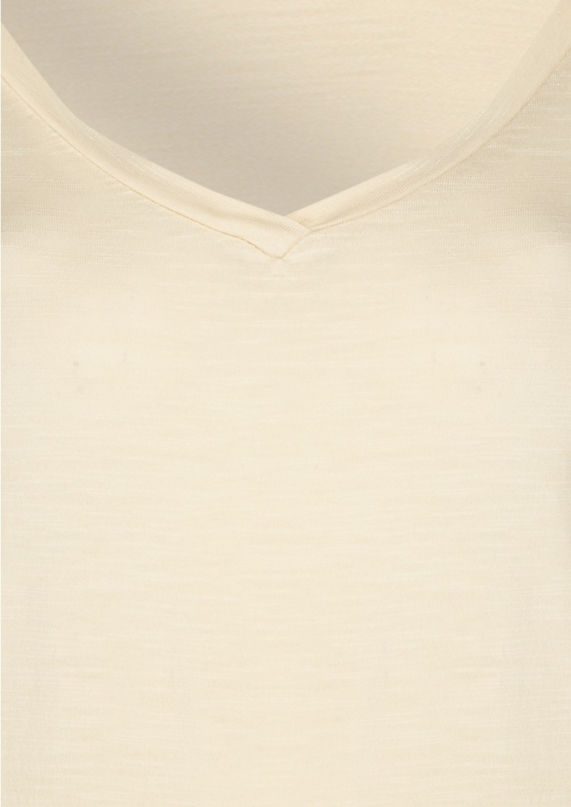 American Vintage Jacksonville Long Sleeve Tee - Nude main image