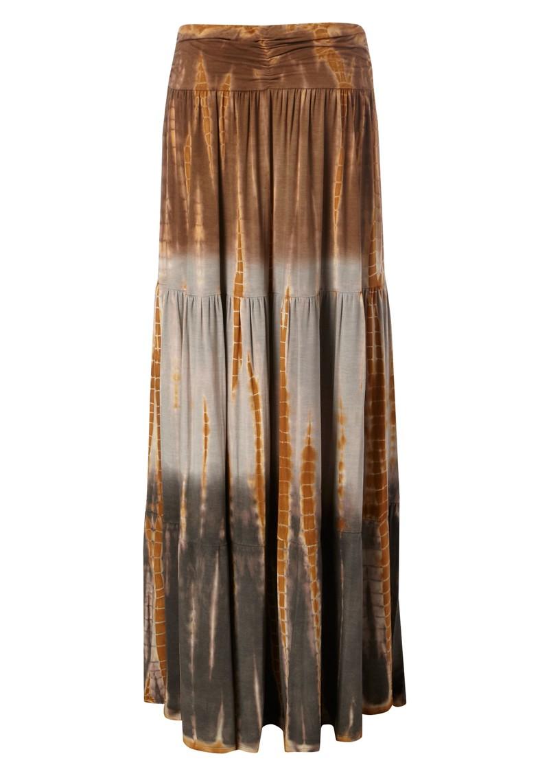 Hale Bob Mai Tai Jersey Maxi Skirt - Neutrals main image