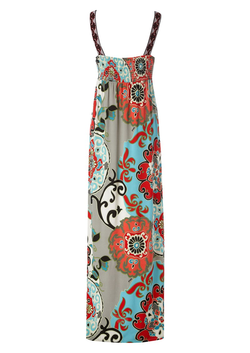Garden Party Maxi Dress - Red main image