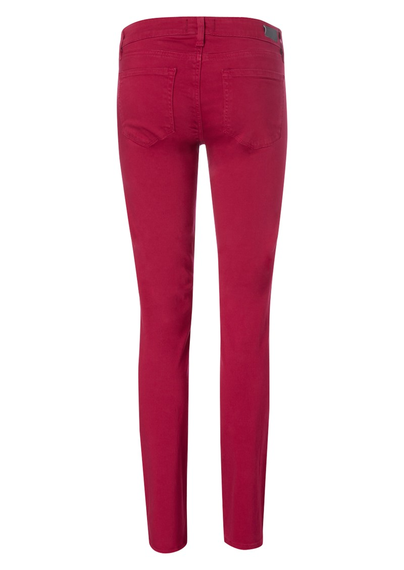 Paige Denim Mid Rise Skyline Ankle Peg Skinny Jean - Deco Rose main image