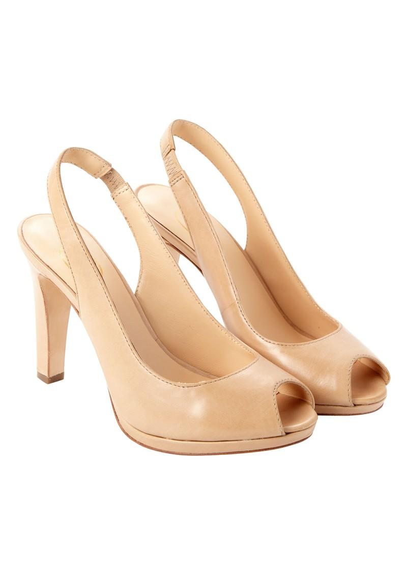 Ash Evita Slingback Heels  - Sand main image