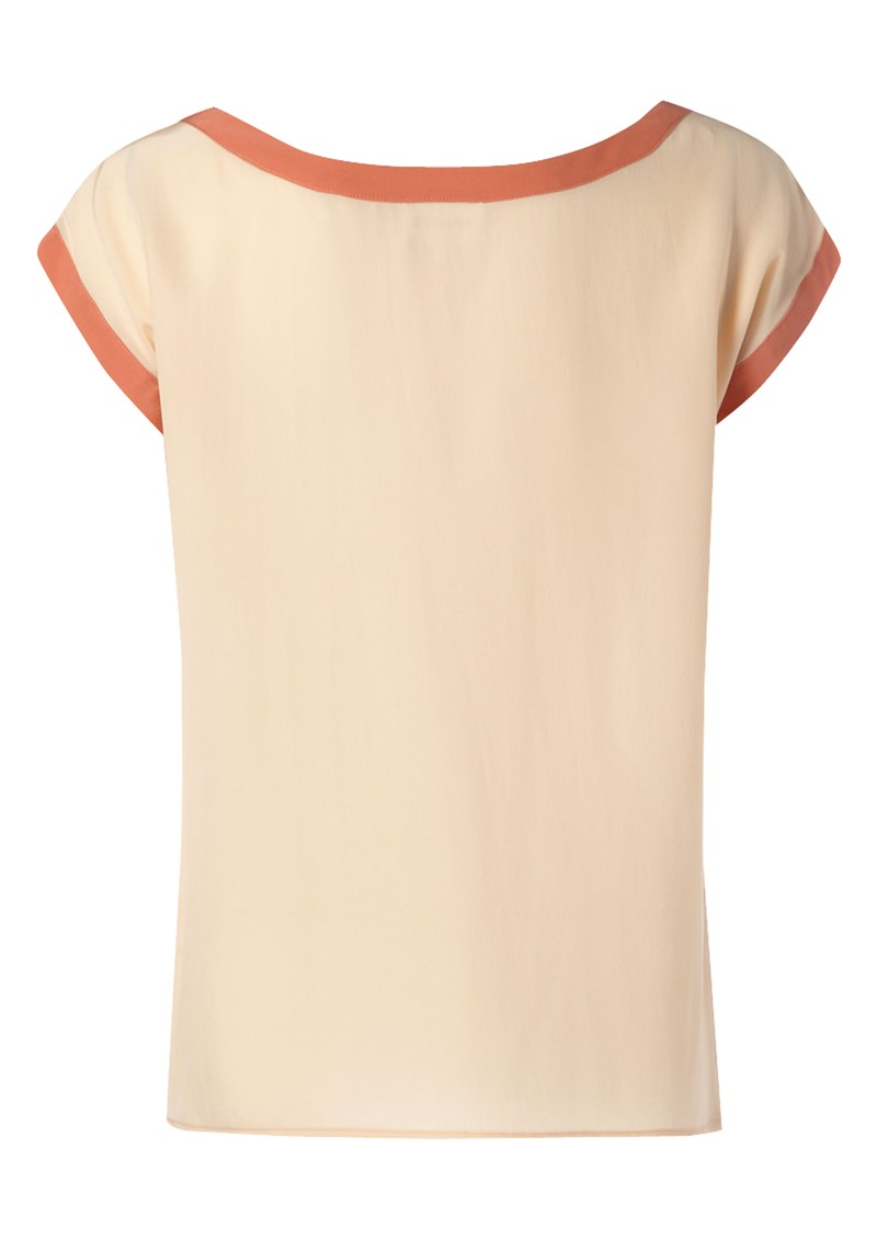 Mummy Silk Tee - Peach main image