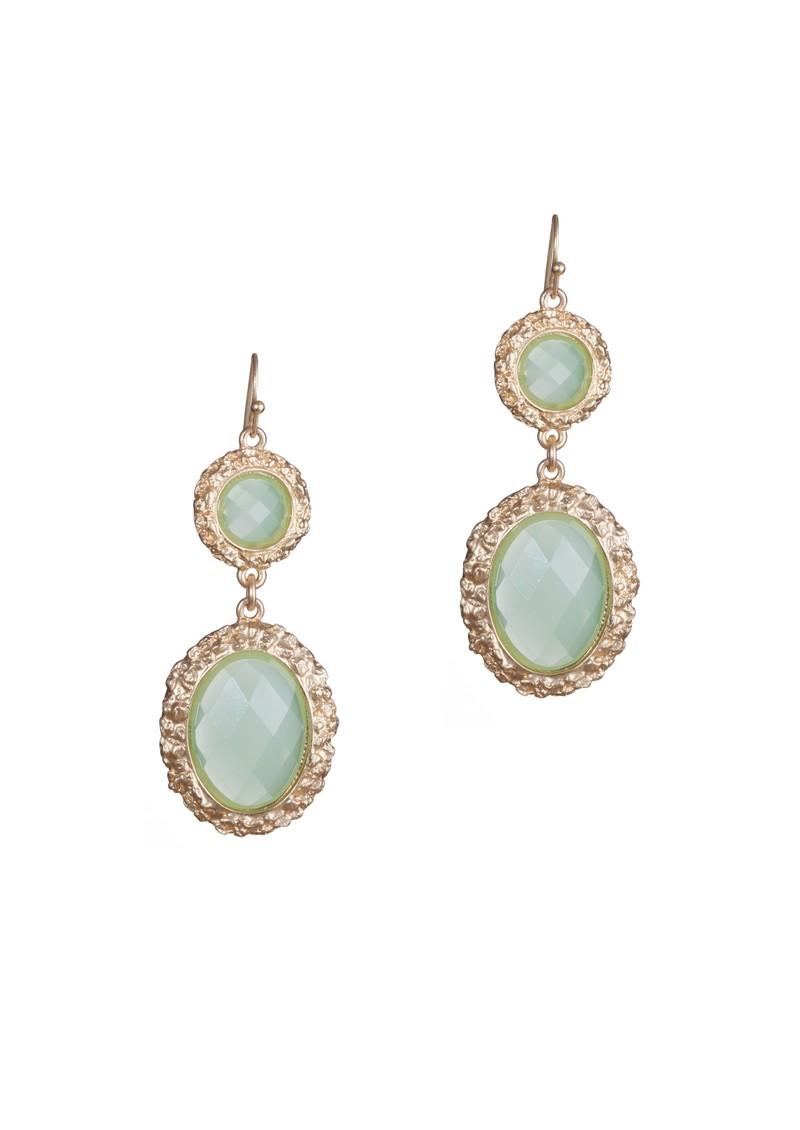 Ingenious Drop Earrings - Green main image