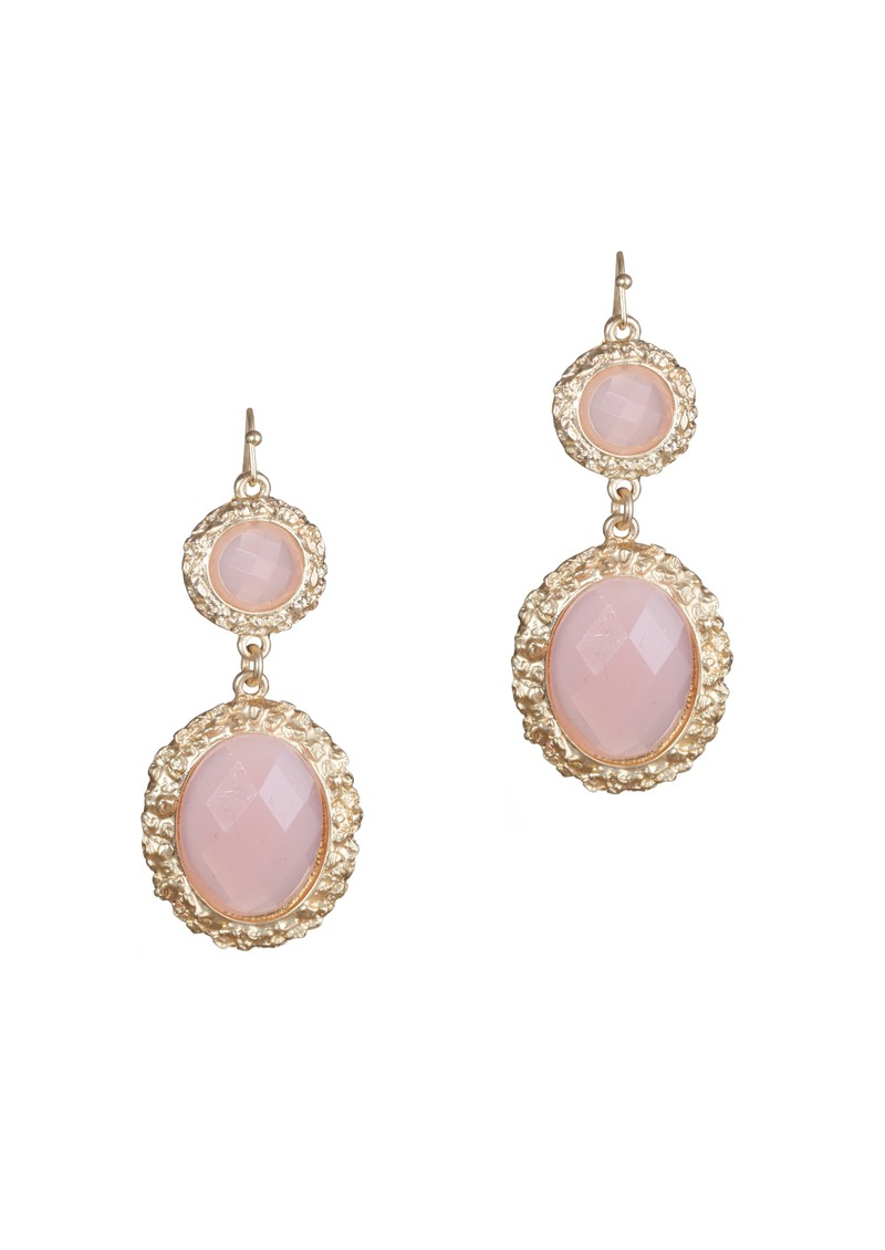Ingenious Drop Earrings - Pink main image