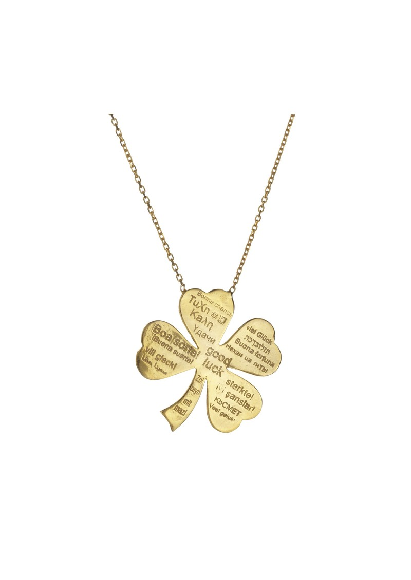 Ingenious Clover Necklace - Gold main image